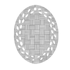 Flooring Household Pattern Oval Filigree Ornament (Two Sides)