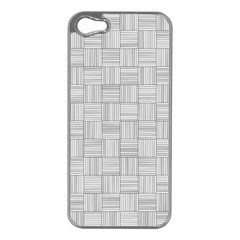 Flooring Household Pattern Apple Iphone 5 Case (silver)