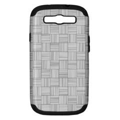 Flooring Household Pattern Samsung Galaxy S III Hardshell Case (PC+Silicone)