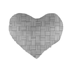 Flooring Household Pattern Standard 16  Premium Heart Shape Cushions