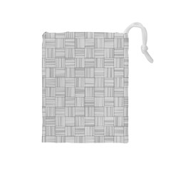 Flooring Household Pattern Drawstring Pouches (Medium)