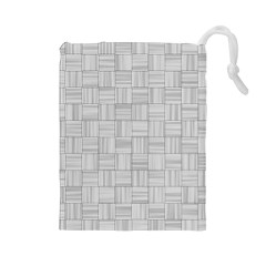 Flooring Household Pattern Drawstring Pouches (large)