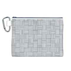 Flooring Household Pattern Canvas Cosmetic Bag (L)