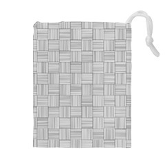 Flooring Household Pattern Drawstring Pouches (extra Large)