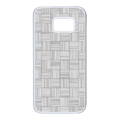 Flooring Household Pattern Samsung Galaxy S7 White Seamless Case