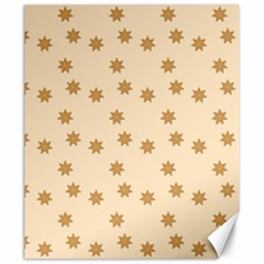 Pattern Gingerbread Star Canvas 20  X 24
