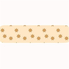 Pattern Gingerbread Star Large Bar Mats