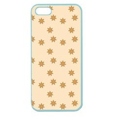 Pattern Gingerbread Star Apple Seamless iPhone 5 Case (Color)