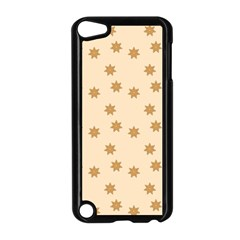 Pattern Gingerbread Star Apple Ipod Touch 5 Case (black)