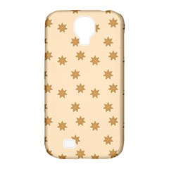 Pattern Gingerbread Star Samsung Galaxy S4 Classic Hardshell Case (pc+silicone)