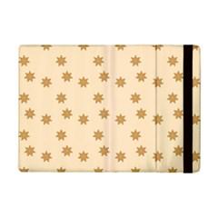 Pattern Gingerbread Star Ipad Mini 2 Flip Cases