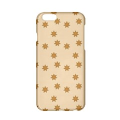 Pattern Gingerbread Star Apple Iphone 6/6s Hardshell Case