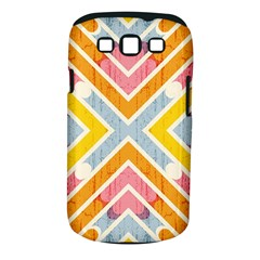 Line Pattern Cross Print Repeat Samsung Galaxy S Iii Classic Hardshell Case (pc+silicone)
