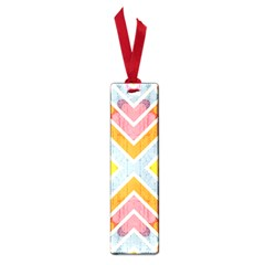 Line Pattern Cross Print Repeat Small Book Marks