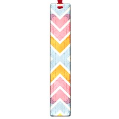 Line Pattern Cross Print Repeat Large Book Marks