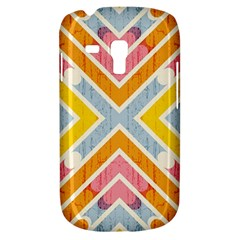 Line Pattern Cross Print Repeat Galaxy S3 Mini