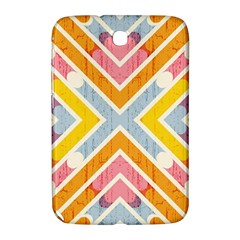 Line Pattern Cross Print Repeat Samsung Galaxy Note 8 0 N5100 Hardshell Case