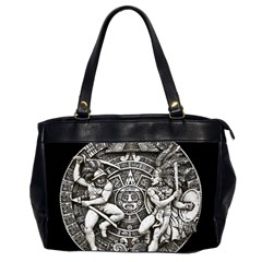 Pattern Motif Decor Office Handbags (2 Sides)