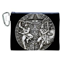 Pattern Motif Decor Canvas Cosmetic Bag (xxl)