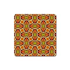 Geometry Shape Retro Trendy Symbol Square Magnet