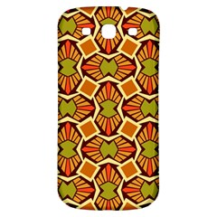 Geometry Shape Retro Trendy Symbol Samsung Galaxy S3 S Iii Classic Hardshell Back Case