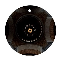 Pattern Design Symmetry Up Ceiling Ornament (Round)