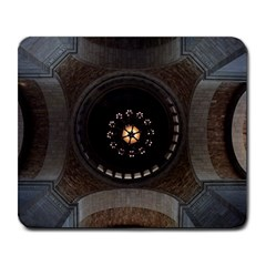 Pattern Design Symmetry Up Ceiling Large Mousepads