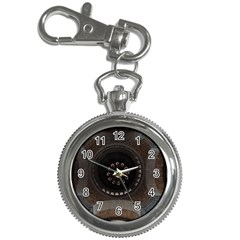 Pattern Design Symmetry Up Ceiling Key Chain Watches
