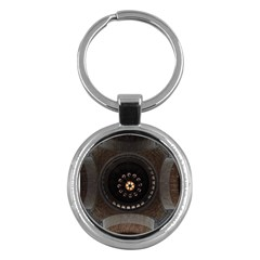 Pattern Design Symmetry Up Ceiling Key Chains (Round)