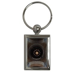 Pattern Design Symmetry Up Ceiling Key Chains (rectangle)
