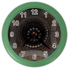 Pattern Design Symmetry Up Ceiling Color Wall Clocks