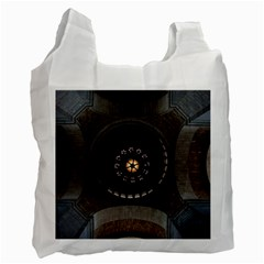 Pattern Design Symmetry Up Ceiling Recycle Bag (two Side)