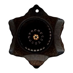 Pattern Design Symmetry Up Ceiling Ornament (snowflake)
