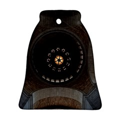 Pattern Design Symmetry Up Ceiling Bell Ornament (Two Sides)