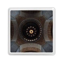 Pattern Design Symmetry Up Ceiling Memory Card Reader (square)
