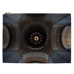 Pattern Design Symmetry Up Ceiling Cosmetic Bag (xxl)