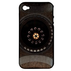Pattern Design Symmetry Up Ceiling Apple iPhone 4/4S Hardshell Case (PC+Silicone)