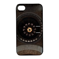 Pattern Design Symmetry Up Ceiling Apple Iphone 4/4s Hardshell Case With Stand