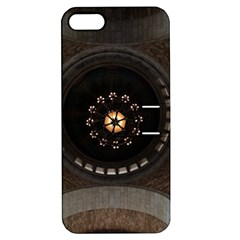 Pattern Design Symmetry Up Ceiling Apple Iphone 5 Hardshell Case With Stand