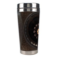 Pattern Design Symmetry Up Ceiling Stainless Steel Travel Tumblers