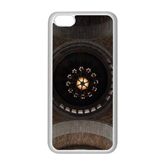 Pattern Design Symmetry Up Ceiling Apple Iphone 5c Seamless Case (white)
