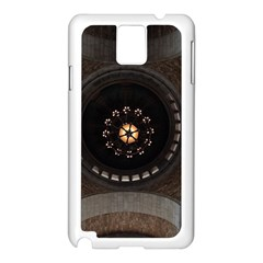 Pattern Design Symmetry Up Ceiling Samsung Galaxy Note 3 N9005 Case (white)
