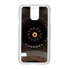 Pattern Design Symmetry Up Ceiling Samsung Galaxy S5 Case (White)
