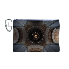 Pattern Design Symmetry Up Ceiling Canvas Cosmetic Bag (m)