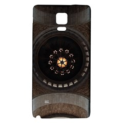 Pattern Design Symmetry Up Ceiling Galaxy Note 4 Back Case