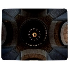 Pattern Design Symmetry Up Ceiling Jigsaw Puzzle Photo Stand (Rectangular)