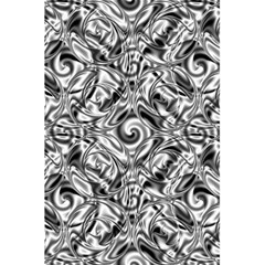 Gray Scale Pattern Tile Design 5 5  X 8 5  Notebooks