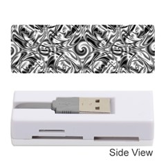 Gray Scale Pattern Tile Design Memory Card Reader (Stick)