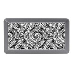 Gray Scale Pattern Tile Design Memory Card Reader (mini)