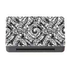 Gray Scale Pattern Tile Design Memory Card Reader With Cf